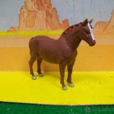 Figuras de Goma y PVC: RARO CABALLO BRITAINS LTD - OESTE TIRO CARRO GRANJA RANCHO . Lote 54070793