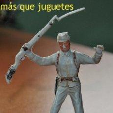 Figuras de Goma y PVC: FIGURA DE UN SOLDADO CONFEDERADO A PIE DE JECSAN. Lote 54076165