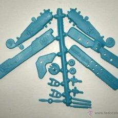 Figuras de Goma y PVC: MONTAPLEX 1 COLADA DEL AVION FOKKER DR1 TRIPLANO Nº 623 - BARON ROJO - RED BARON PLANE - AZUL CLARO. Lote 191926200