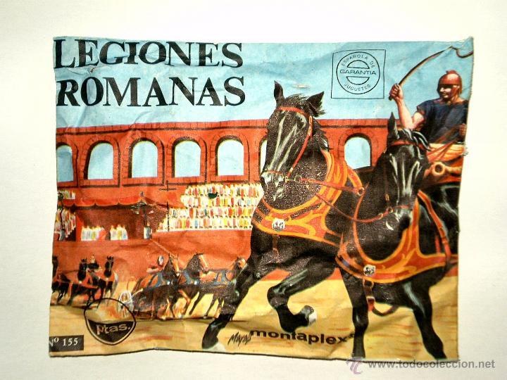 SOBRE MONTAPLEX Nº 155 LEGIONES ROMANAS - SOBRE CERRADO (Juguetes - Figuras de Goma y Pvc - Montaplex)