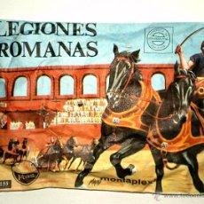 Figuras de Goma y PVC: SOBRE MONTAPLEX Nº 155 LEGIONES ROMANAS - SOBRE CERRADO. Lote 54079729