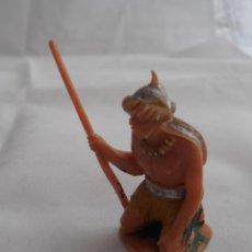 Figuras de Goma y PVC: FIGURA GUERRERO H1 MONGOLES JECSAN AÑOS 60. Lote 54090050