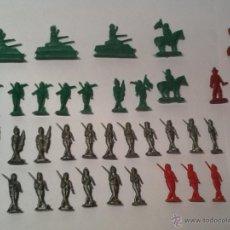 Figuras de Goma y PVC: LOTE DE SOLDADITOS DE PLASTICO TIPO MONTAPLEX. Lote 45886393
