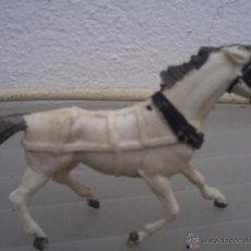 Figuras de Goma y PVC: CABALLO DE TIRO DE LA CARRETA DE COMANSI. Lote 54158083