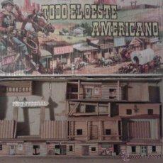 Figuras de Goma y PVC: COMANSI. CAJA TODO EL OESTE AMERICANO. AÑOS 60-70.. Lote 54162852
