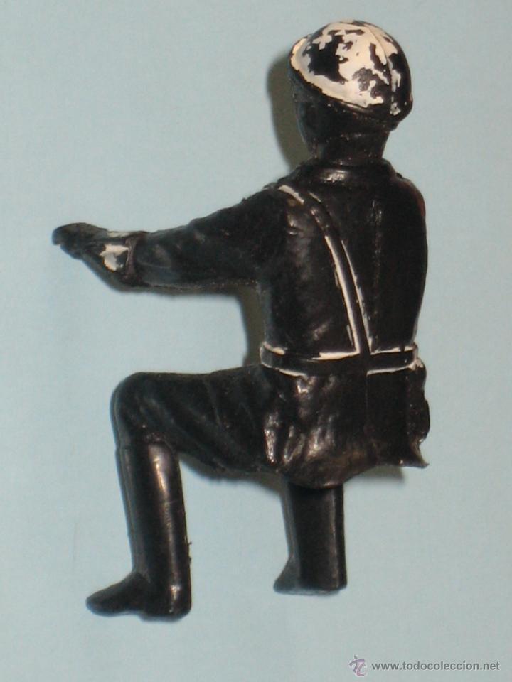 Figuras de Goma y PVC: DOS FIGURAS DE PLÁSTICO MOTORISTAS - Foto 4 - 54186521