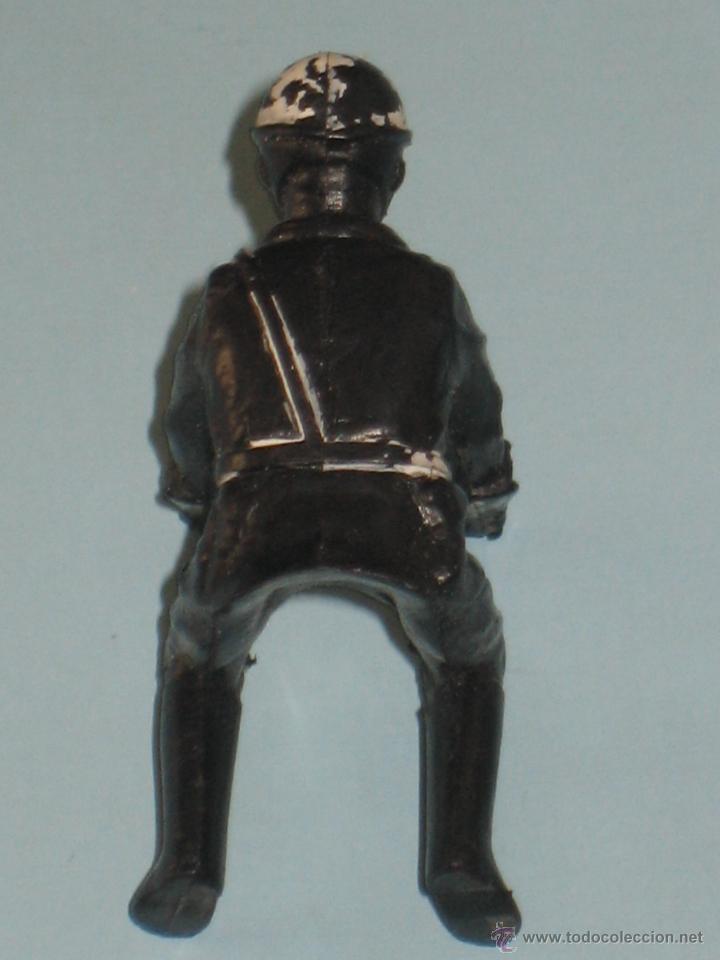 Figuras de Goma y PVC: DOS FIGURAS DE PLÁSTICO MOTORISTAS - Foto 6 - 54186521