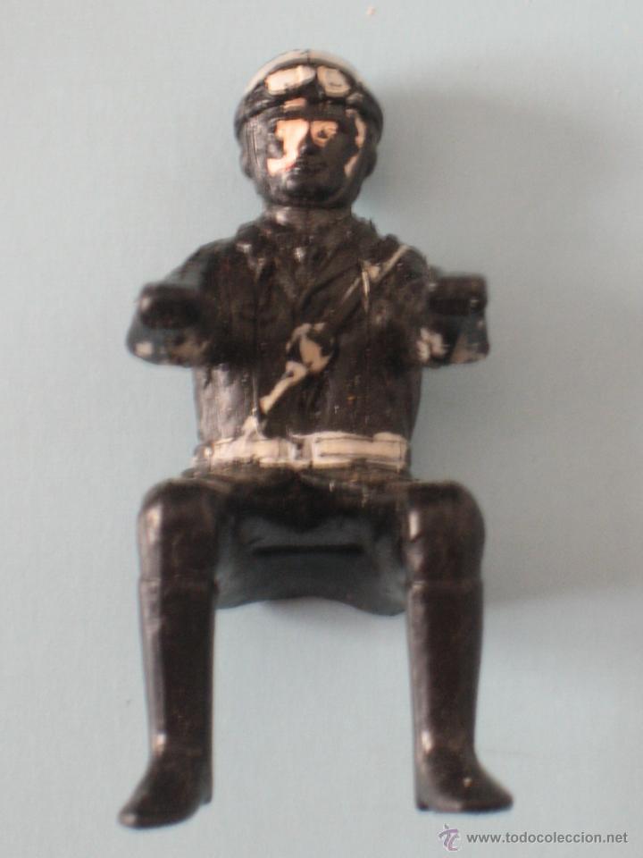 Figuras de Goma y PVC: DOS FIGURAS DE PLÁSTICO MOTORISTAS - Foto 7 - 54186521