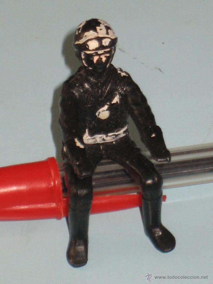 Figuras de Goma y PVC: DOS FIGURAS DE PLÁSTICO MOTORISTAS - Foto 8 - 54186521