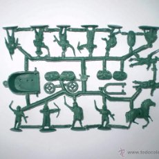 Figuras de Goma y PVC: MONTAPLEX 1 COLADA DE LEGIONARIOS ROMANOS DEL SOBRE Nº 155 LEGIONES ROMANAS - COLOR VERDE GRISACEO. Lote 57317355