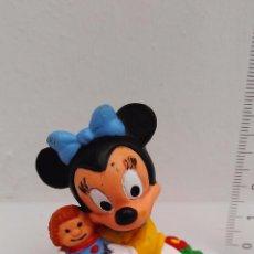 Figuras de Goma y PVC: FIGURA DE PVC MINNIE BABY MICKEY DISNEY BULLYLAND GERMANY. Lote 54205303