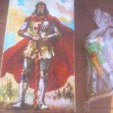 Figuras de Goma y PVC: GUERRERO MEDIEVAL DE COMANSI JUGUETES HISTÓRICOS . Lote 54210011