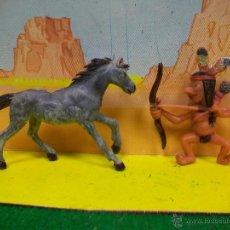 Figuras de Goma y PVC: FIGURA BOYBIS DE JECSAN - INDIO SERIE BOYBIS JECSAN. Lote 54226356