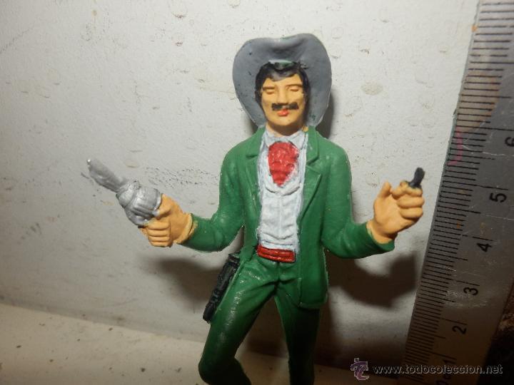 Figuras de Goma y PVC: figura oeste comansi epoca jecsan pech vaquero bonanza maverick - Foto 2 - 54259475