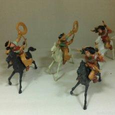 Figuras de Goma y PVC: VAQUEROS DE LAFREDO. Lote 54437097