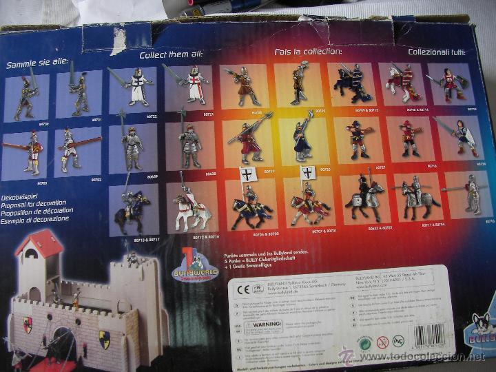 Figuras de Goma y PVC: ANTIGUO CASTILLO BULLYLAND NUEVO EN SU CAJA SIN USAR - Foto 3 - 54277182