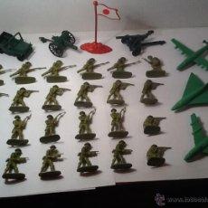 Figuras de Goma y PVC: MONTAPLEX, ARMY MEN, SOLDADOS JAPONESES. Lote 54294897