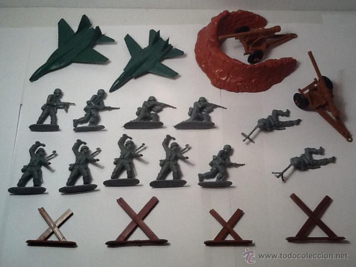 MONTAPLEX, ARMY MEN, SOLDADOS ALEMANES (Juguetes - Figuras de Goma y Pvc - Montaplex)