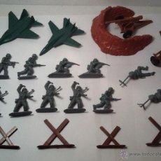 Figuras de Goma y PVC: MONTAPLEX, ARMY MEN, SOLDADOS ALEMANES. Lote 54294973