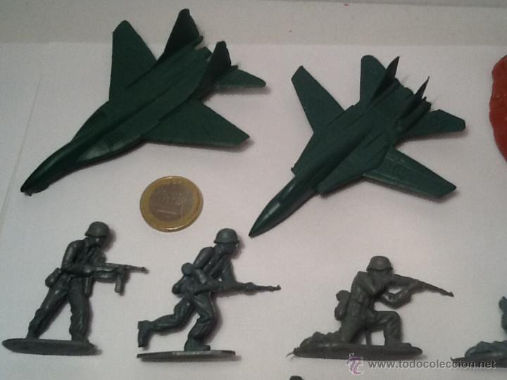 Figuras de Goma y PVC: Montaplex, army men, soldados alemanes - Foto 2 - 54294973