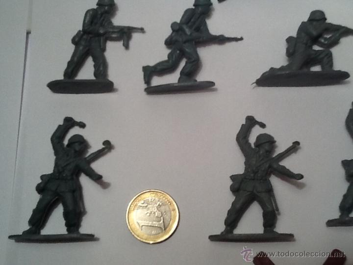 Figuras de Goma y PVC: Montaplex, army men, soldados alemanes - Foto 3 - 54294973