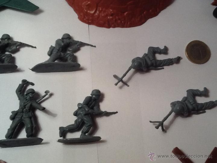 Figuras de Goma y PVC: Montaplex, army men, soldados alemanes - Foto 6 - 54294973