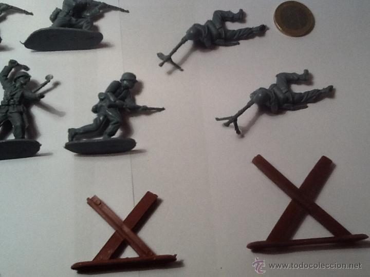 Figuras de Goma y PVC: Montaplex, army men, soldados alemanes - Foto 7 - 54294973