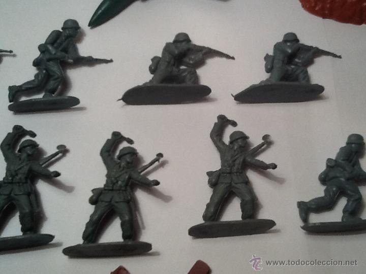Figuras de Goma y PVC: Montaplex, army men, soldados alemanes - Foto 8 - 54294973