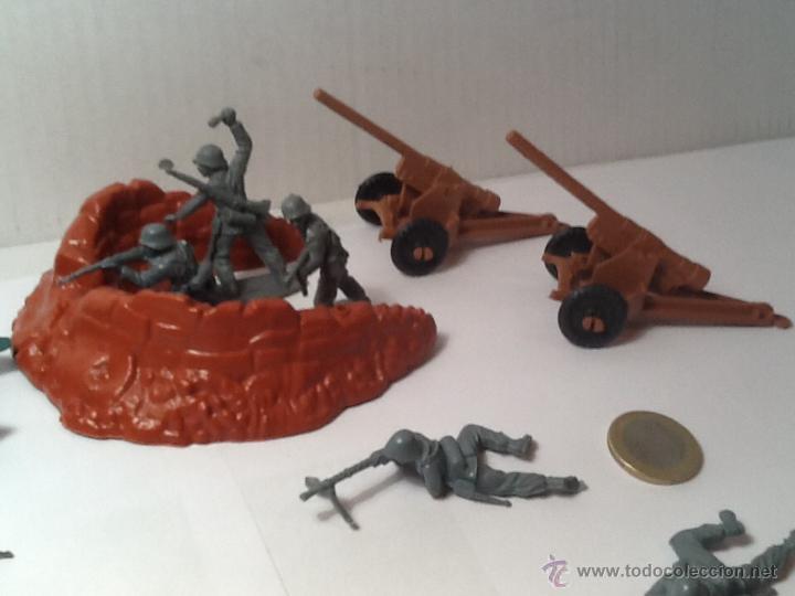 Figuras de Goma y PVC: Montaplex, army men, soldados alemanes - Foto 9 - 54294973