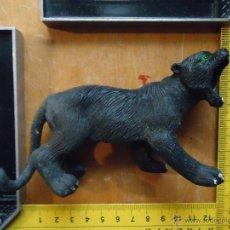 Figuras de Goma y PVC: ANTIGUA GRAN FIGURA PVC PLASTICO DURO O GOMA PANTERA O TIGRE HONK KONG 14 CM. Lote 54364089