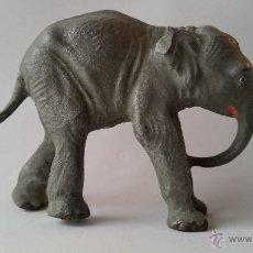 Figuras de Goma y PVC: CRIA DE ELEFANTE INDIO LINEOL 1950 ZOO. Lote 54371532