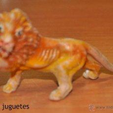 Figuras de Goma y PVC: LEÓN EN PLÁSTICO DE JECSAN. Lote 54394938