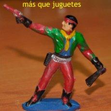 Figuras de Goma y PVC: FIGURA EN GOMA DE UN VAQUERO O COWBOY DE SOTORRES.. Lote 54395139