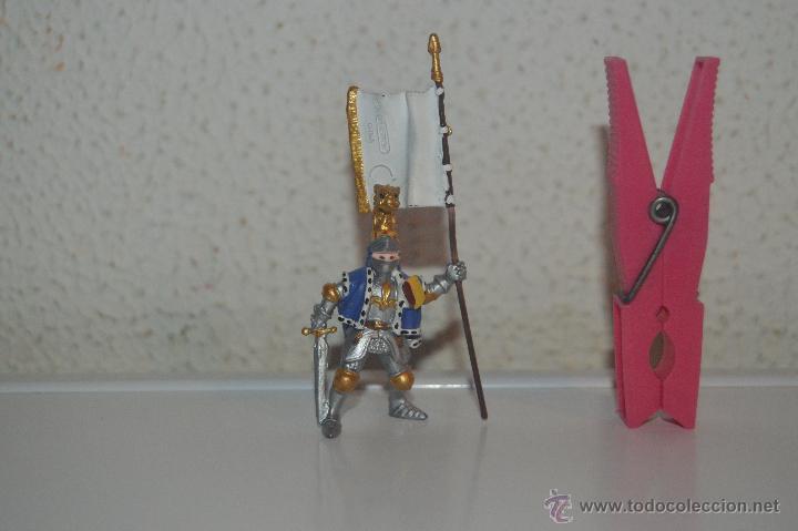 MUÑECO FIGURA CABALLERO MEDIEVAL PLASTOY (Juguetes - Figuras de Goma y Pvc - Otras)