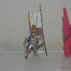 Figuras de Goma y PVC: MUÑECO FIGURA CABALLERO MEDIEVAL PLASTOY. Lote 54423120