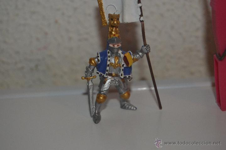 Figuras de Goma y PVC: muñeco figura caballero medieval plastoy - Foto 2 - 54423120