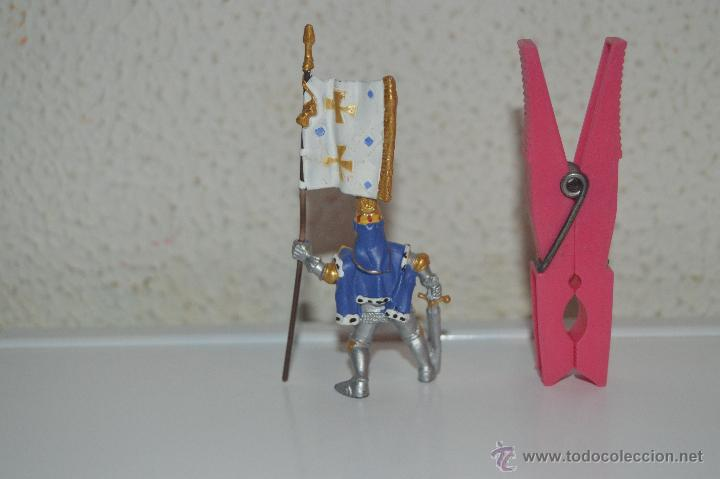 Figuras de Goma y PVC: muñeco figura caballero medieval plastoy - Foto 3 - 54423120