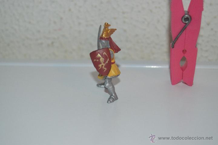 Figuras de Goma y PVC: muñeco figura caballero soldado medieval plastoy - Foto 2 - 54423175