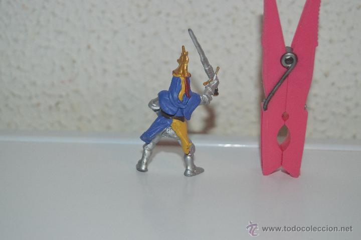 Figuras de Goma y PVC: muñeco figura caballero soldado caballero medieval plastoy - Foto 2 - 54423203