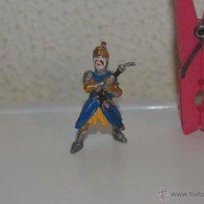 Figuras de Goma y PVC: MUÑECO FIGURA SOLDADO MEDIEVAL PLASTOY. Lote 54423253
