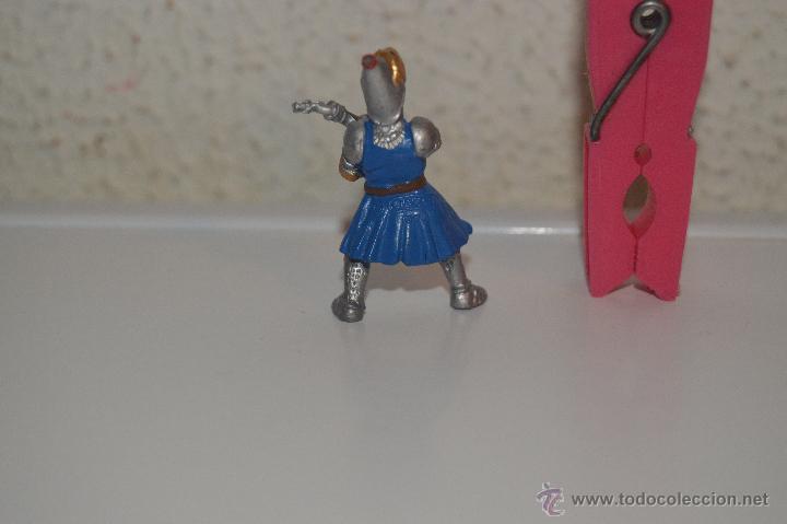 Figuras de Goma y PVC: muñeco figura soldado medieval plastoy - Foto 2 - 54423253