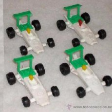 Figuras de Goma y PVC: MONTAPLEX - BOLIDOS BLANCOS---------(REF M1 E2). Lote 54470490