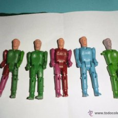Figuras de Goma y PVC: MONTAMAN AÑOS 70 5 UNIDADES ----------- (REF-HAMIARCADE2). Lote 54519435