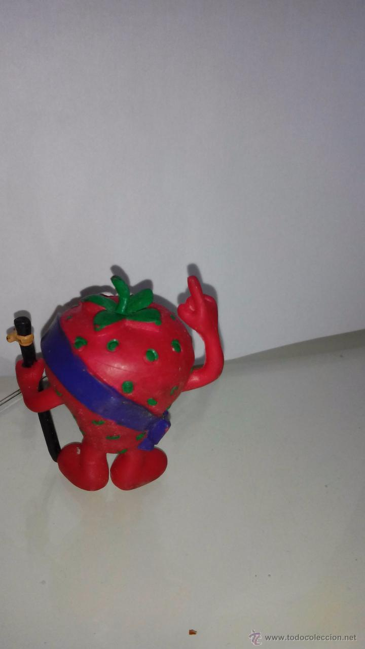 Figuras de Goma y PVC: FRESA - FRESON - COMICS SPAIN, SERIE FRUTIS, FRUITTIS - Foto 2 - 54557730