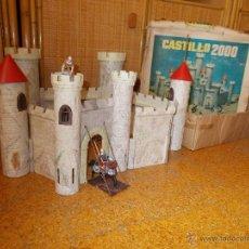 Figuras de Goma y PVC: CASTILLO 2000 DE JUGUETES GINER PARA FIGURAS REAMSA.ORIGINAL AÑOS 60.MEDIEVAL.CASTILLO 2004.PTOY. Lote 54569673