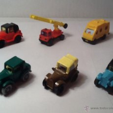 Figuras Kinder: MINIATURAS KINDER COCHES. Lote 54591058