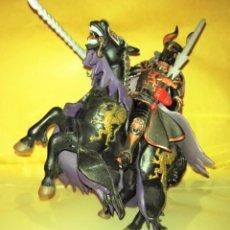 Figuras de Goma y PVC: FIGURA PAPO CABALLERO Y CABALLO TORNEO5. Lote 54712366