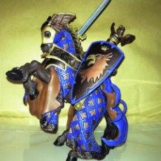 Figuras de Goma y PVC: FIGURA PAPO CABALLERO Y CABALLO TORNEO7. Lote 54712745