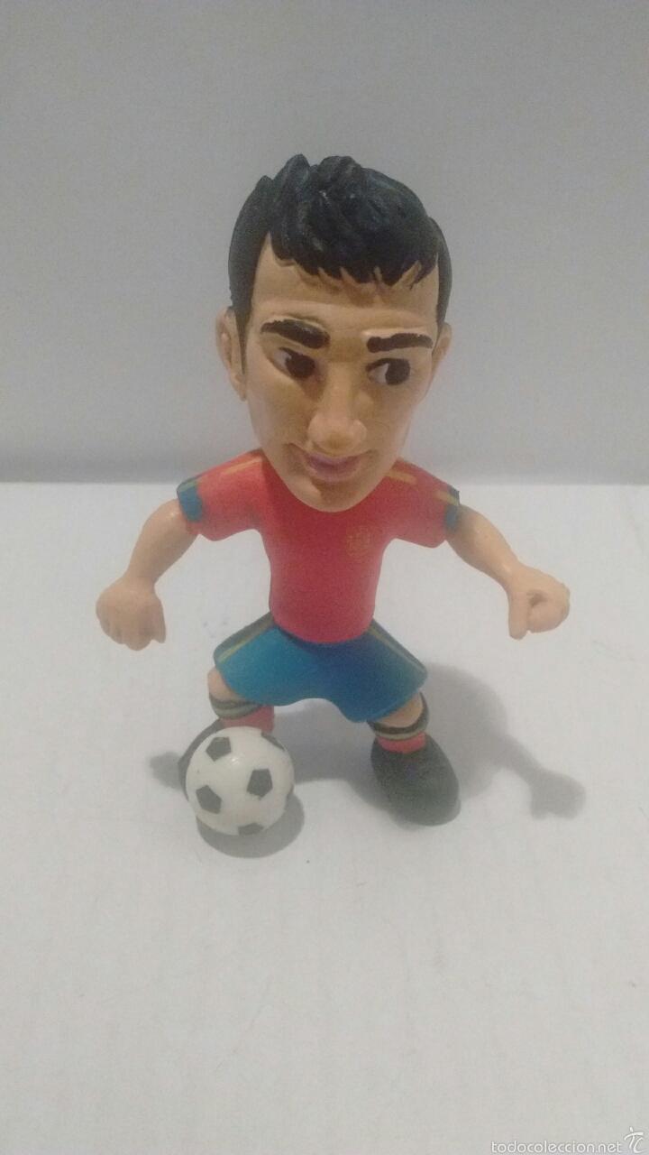 Figuras de Goma y PVC: Figura de Cesc Fábregas con Equipacion de la Selección Española. Made in Spain. - Foto 3 - 54725125