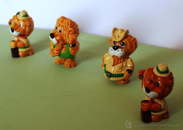 Figuras Kinder: *PRECIOSA COLECCIÓN DE MUÑECOS-LEÓN DE KINDER* Juguete miniatura - Foto 2 - 54742156